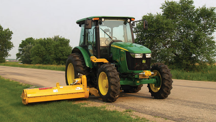 Tiger Super Duty Side Flail Mower | Industrial Mowing