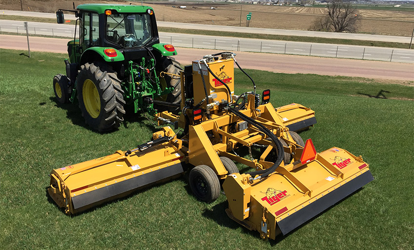 Tiger Triple Threat Triple Flail Mower | Industrial Mowing