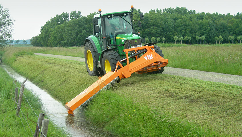 Votex Jumbo Frontline Side Flail Mower | Industrial Mowing
